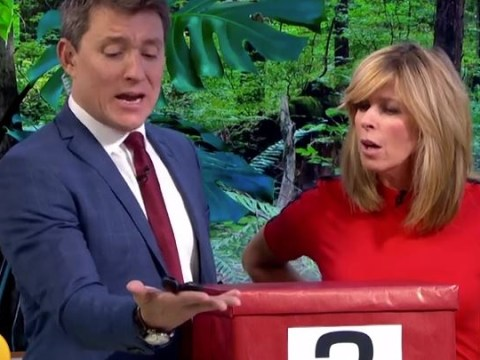Ben Shephard becomes the helpless victim of a golden shower from a millipede on GMB: 'I'm covered!'