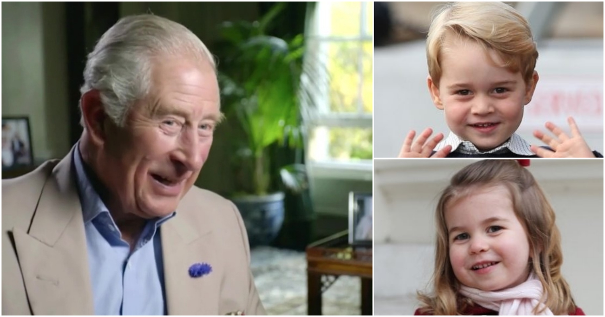 Prince Charles reads Harry Potter to George, Charlotte and Louis – with voices