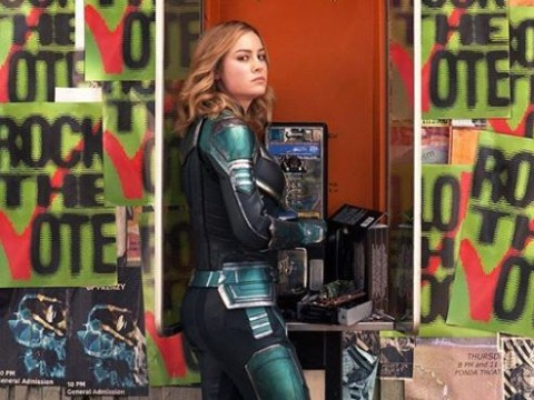 If you call the number on Captain Marvel's phone booth, you get directed to a sex line