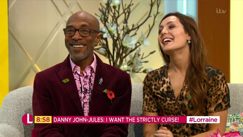 Danny John-Jules wants the Strictly curse to strike: 'I didn't get nothing'
