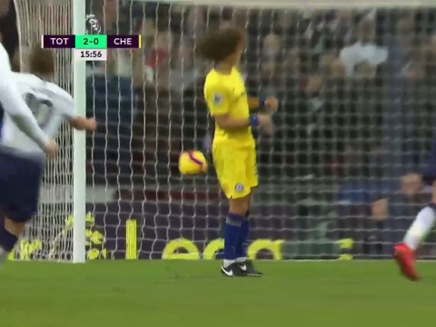 Maurizio Sarri reveals why David Luiz dodged the ball for Harry Kane's goal in Chelsea's defeat to Spurs