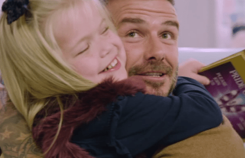 David Beckham surprising Child of Courage winner Ella Chadwick is giving people heart palpitations