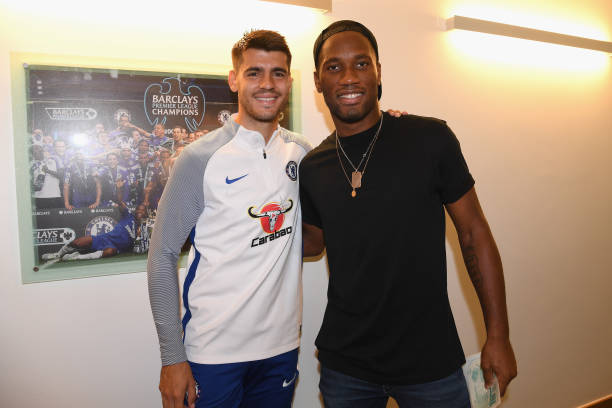 Didier Drogba praises Alvaro Morata and urges Eden Hazard to sign new Chelsea contract