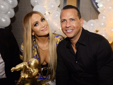 Jennifer Lopez plays coy as she's well and truly quizzed by Ellen DeGeneres on engagement to Alex Rodriguez