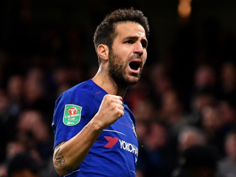 Cesc Fabregas tells Maurizio Sarri to play him further forward after scoring Chelsea's winner