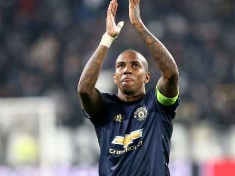 Manchester United open contract talks with Ashley Young