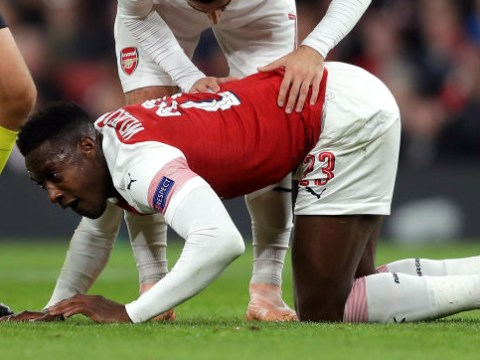 Mesut Ozil and Gary Neville send messages to Danny Welbeck after Arsenal star suffers injury