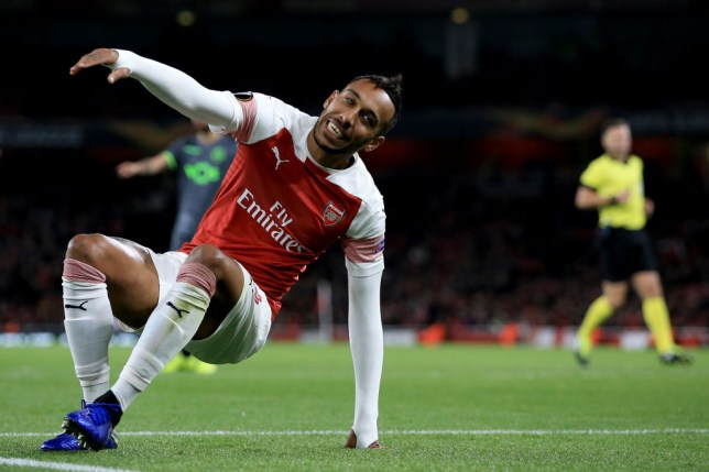 d29aebc25 Arsenal news  Aubameyang let Gunners down against Sporting Lisbon ...