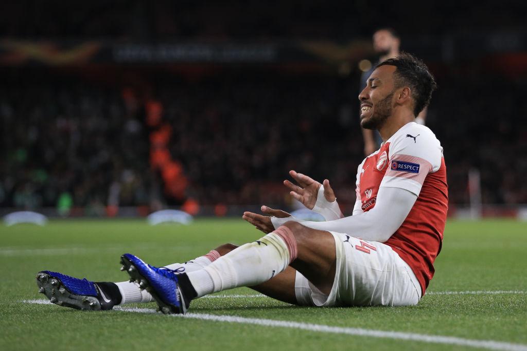 Pierre-Emerick Aubameyang let Arsenal down against Sporting Lisbon, says Martin Keown