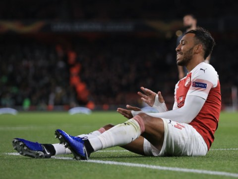 Pierre-Emerick Aubameyang let Arsenal down against Sporting Lisbon, says Martin Keown