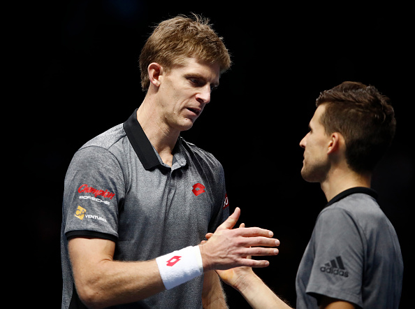 ATP Finals: Dominic Thiem rates Kevin Anderson's chances of upsetting Novak Djokovic and Roger Federer