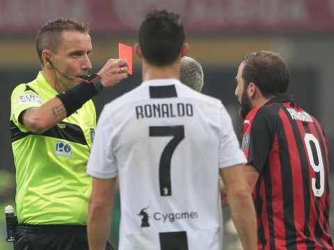 What Cristiano Ronaldo told Gonzalo Higuain after red card meltdown