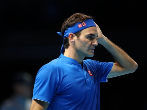 Roger Federer lashes out at umpire after shock ATP Finals defeat