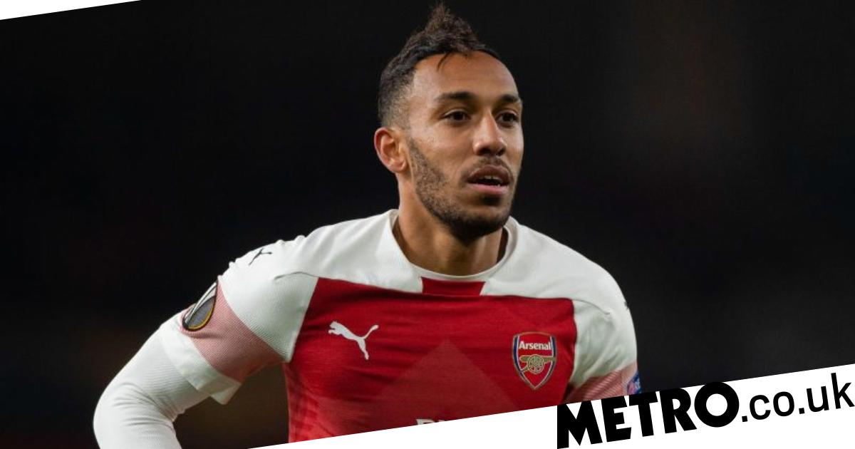 205df9f2 Pierre-Emerick Aubameyang speaks out after joining Alexandre Lacazette on  Arsenal injury list