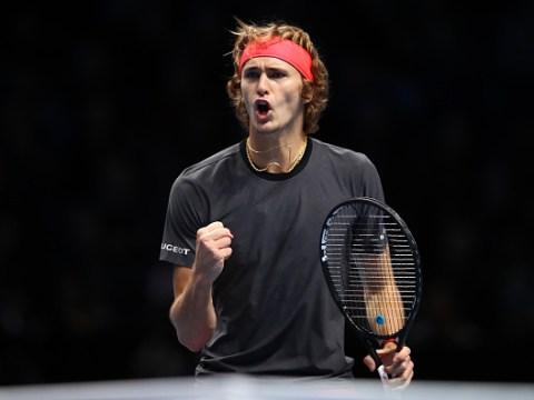 Alexander Zverev sets up Roger Federer semi-final as he finishes second behind Novak Djokovic