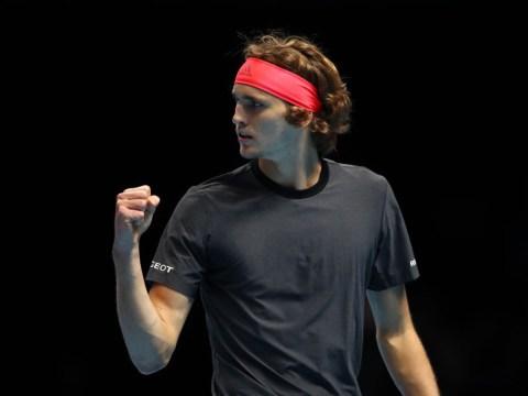 Alexander Zverev stuns Roger Federer in ATP Finals thriller