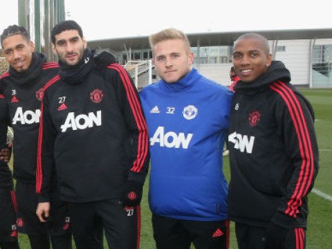 Paul Woolston spotted in Manchester United training after completing transfer