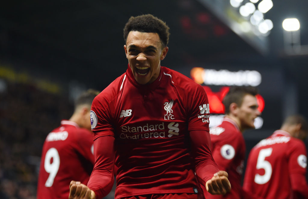 Trent Alexander-Arnold reveals the two Liverpool legends he wants to emulate
