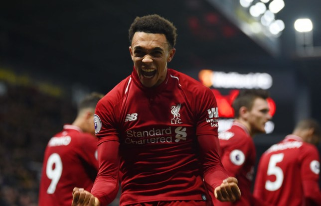 finest selection f4841 181e9 Liverpool news: Trent Alexander-Arnold reveals the two ...