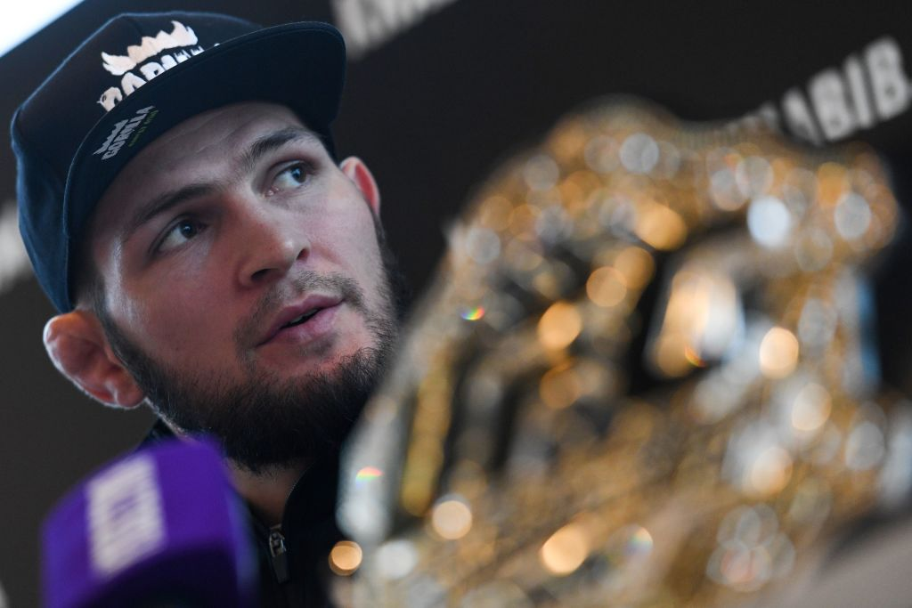 UFC champion Khabib Nurmagomedov shoots down retirement rumours