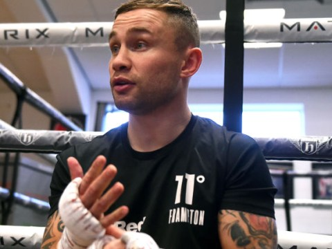 Carl Frampton gives up alcohol to boost chances of claiming another world title