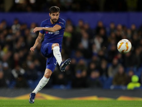 Cesc Fabregas drops hint over Chelsea future after he stars in place of Jorginho in win over PAOK