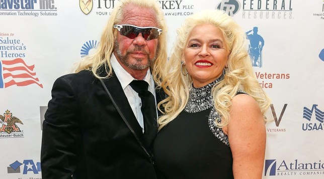 Dog The Bounty Hunter pictured with wife Beth Chapman.