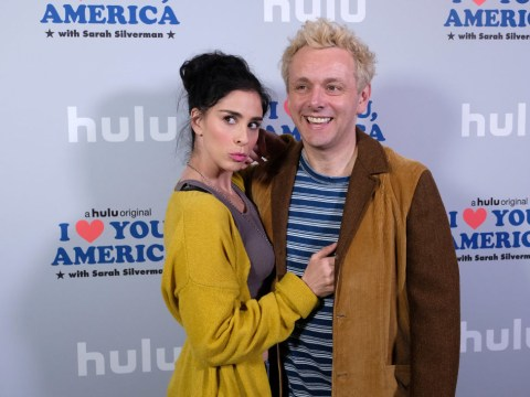Michael Sheen's split from Sarah Silverman was basically caused by Brexit