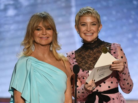 Kate Hudson wishes 'fearless leader' Goldie Hawn a happy 73rd birthday