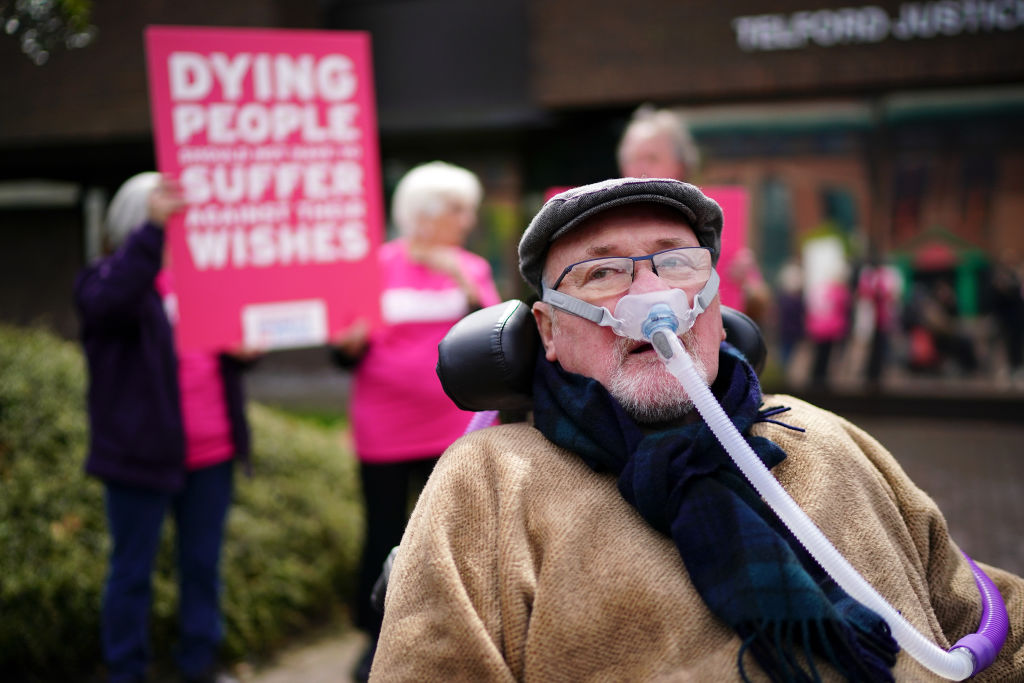 MPs must step in to support people like Noel Conway's right to die