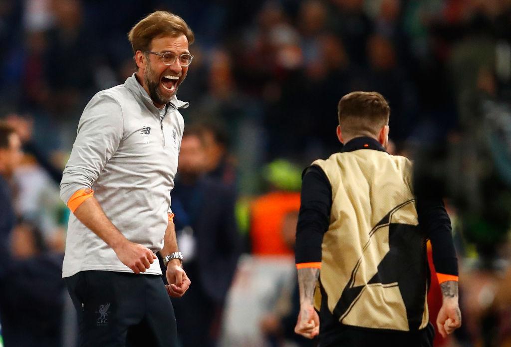 Jurgen Klopp first to start party after Champions League heartbreak, says Steven Gerrard