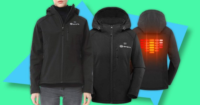 Picture: Amazon Heated clothing