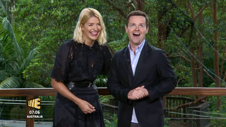 I'm A Celebrity fans hack Declan Donnelly by changing his height on Wikipedia after Holly Willoughby mocks him