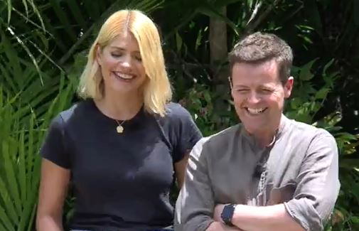 I'm A Celebrity's Declan Donnelly's back, sack and crack pops up again during John Barrowman's Bushtucker trial
