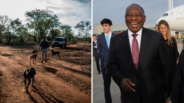 White farmers lose fight to save their land going to black South Africans