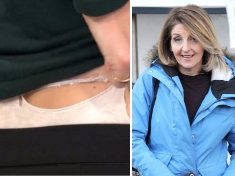 Kaye Adams gets her knickers out on live TV and Loose Women viewers don't know what to think