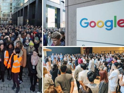 Google employees across the world walk out over sex harassment scandals