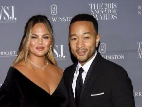 Chrissy Teigen and John Legend are couple goals as they join Cara Delevingne at WSJ Innovator Awards