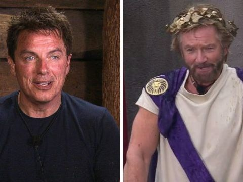 I'm A Celebrity's Noel Edmonds clashes with John Barrowman over groin scratch