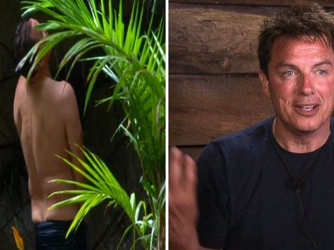 John Barrowman's poor penis freezes as he tries to adjust to I'm A Celebrity camp life