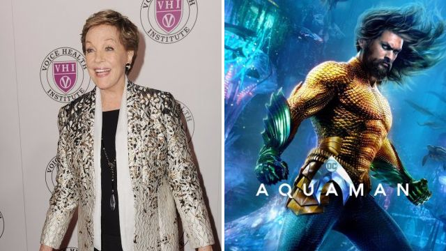 Julie Andrews has a surprise Aquaman role and the seas are alive with the sound of music