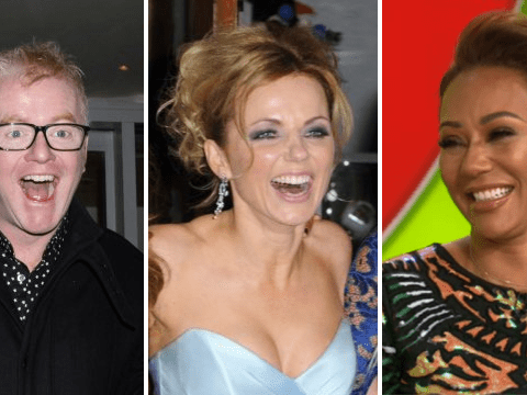 Spice Girls' Mel B jokes exes Chris Evans and Geri Horner 'literally' know each other inside out