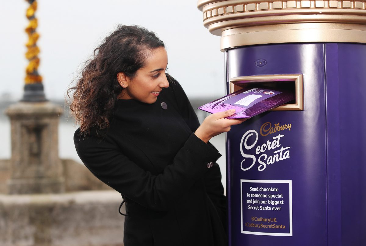 Cadbury launches a free Secret Santa Postal Service