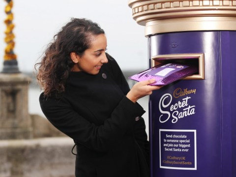 Cadbury launches a free Secret Santa Postal Service