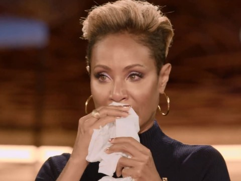 Jada Pinkett Smith breaks down in tears while remembering her parents' violent relationship