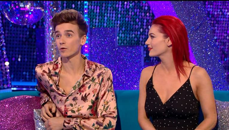 Strictly's Joe Sugg blames Claudia Winkleman for getting emotional on live show: 'That's your fault'