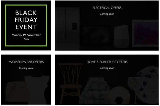 When Do The John Lewis Black Friday Offers Start And What To Expect Metro News