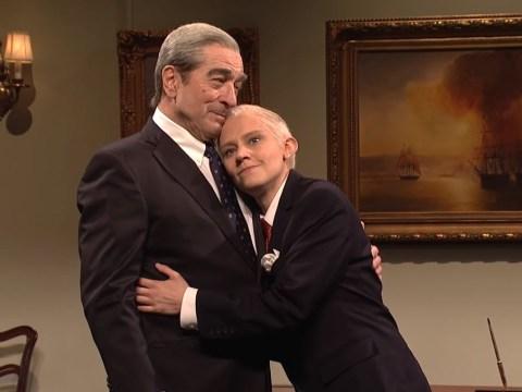 Robert De Niro becomes Robert Mueller for Jeff Sessions sketch on Saturday Night Live