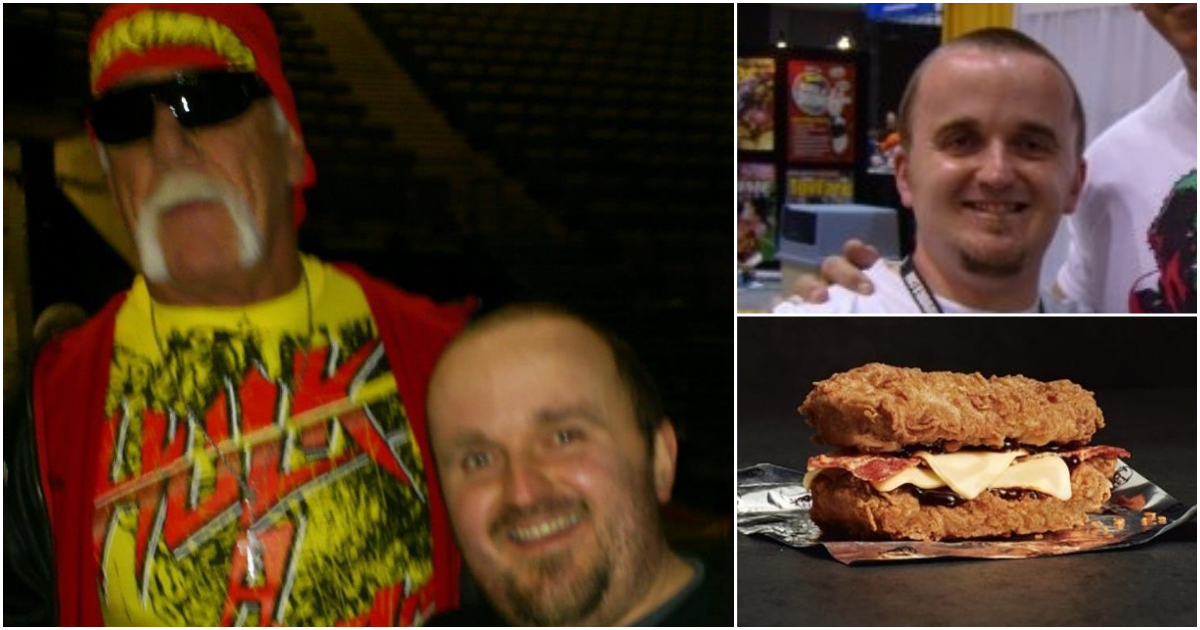Comic shop owner choked to death on KFC Double Down burger