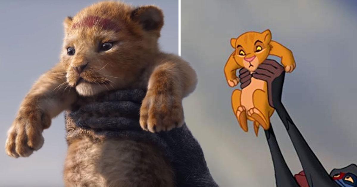 The new Lion King trailer side by side with the original is a perfect carbon-copy and will give you all the feels